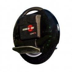 Моноколесо Kingsong 14DS (840Wh) черное, вид сбоку